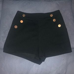 Ark & Co high waisted short shorts